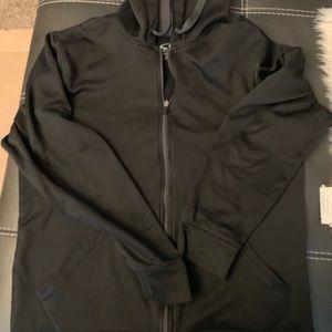 Men's medium black and grey Champion hoodie
